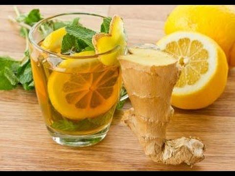 طريقة عمل عصير الليمون والنعناع والزنجبيل thumbnail