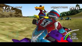 Game 76 - ATV Quad Power Racing - PS1 PSX PSone PS Sony PlayStation ePSXe 1080p HD Gameplay footage