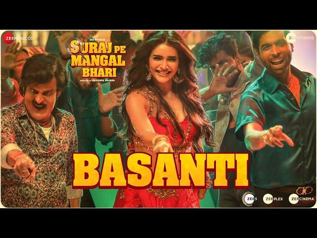 Basanti - Suraj Pe Mangal Bhari | Diljit | Manoj | Fatima| Karishma|Javed-Mohsin, Payal D & Danish S