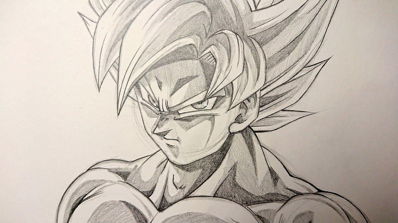 Asmr pencil drawing goku mastered ultra instinct 1 hour time limit