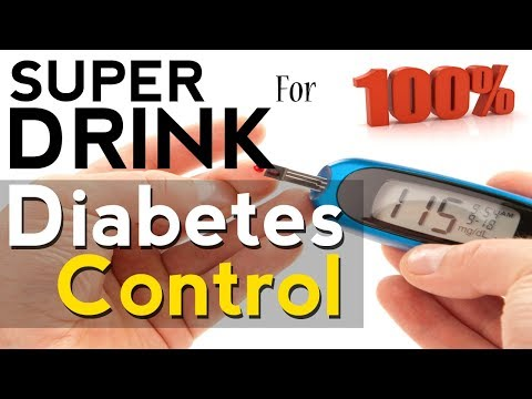 SUPER Drink to Cure Diabetes