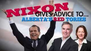 Richard Nixon gives advice to Jim Prentice