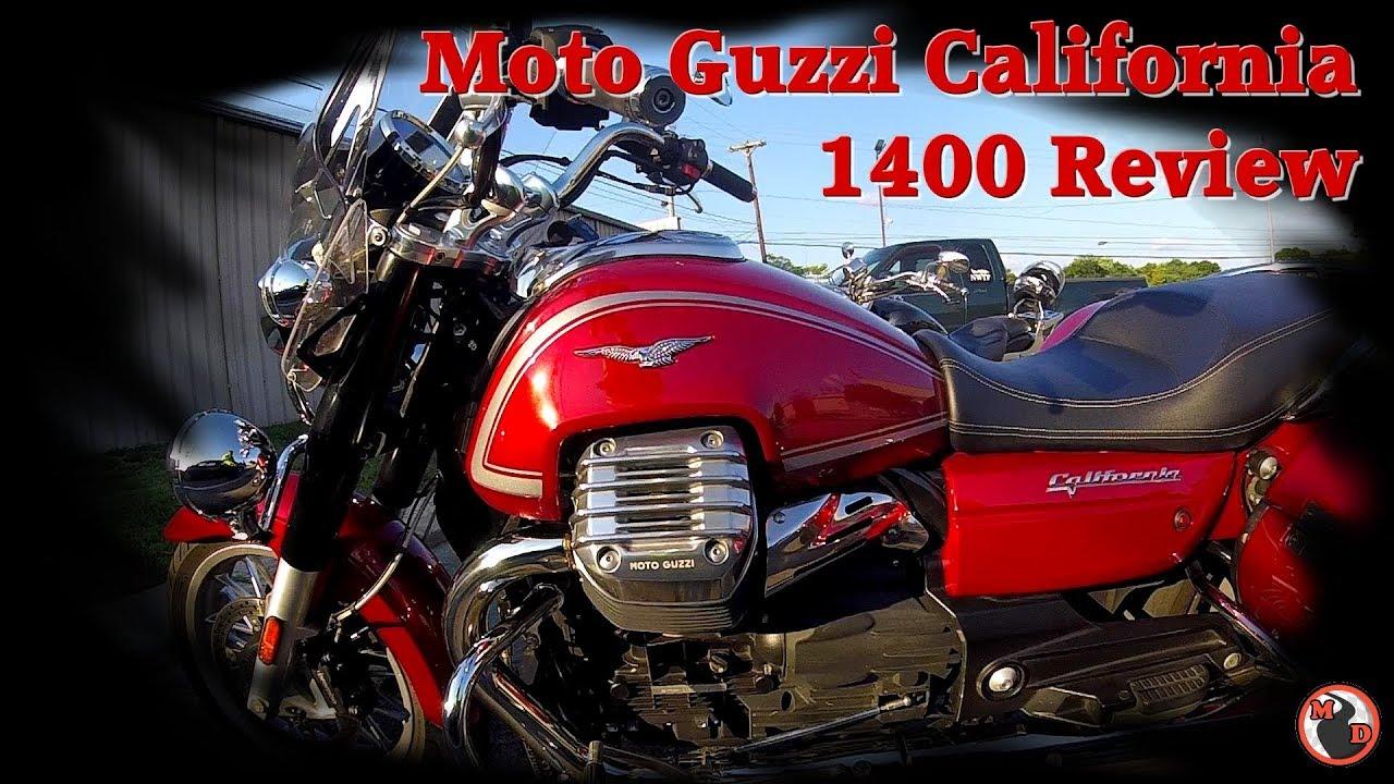 Moto Guzzi California 1400 Touring First Ride / 130 Mile Ride Review