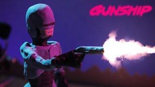 Смотреть клип Gunship - Tech Noir