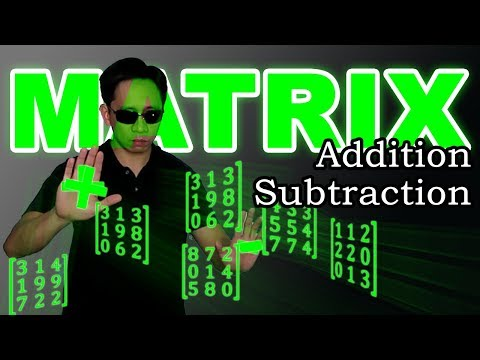 Precalculus   Matrices   Addition and Subtraction from YouTube · Duration:  6 minutes 4 seconds