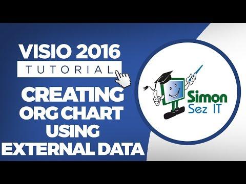 How to Create a Visio 2016 Org Chart Using External Data