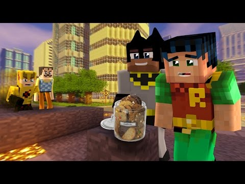 Minecraft Hello Neighbor & Reverse Flash Cookie Trap (minecraft Roleplay)
