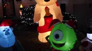My Airblown Inflatable Christmas Display 2013