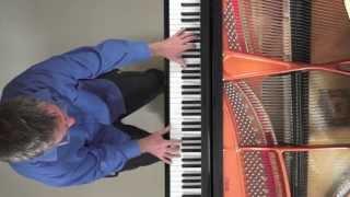 Fauré Requiem 'In Paradisum' (complete) piano solo - P. Barton harmonic pedal piano