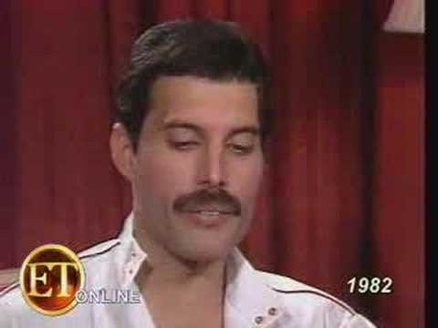 Interview With Freddie Mercury - YouTube