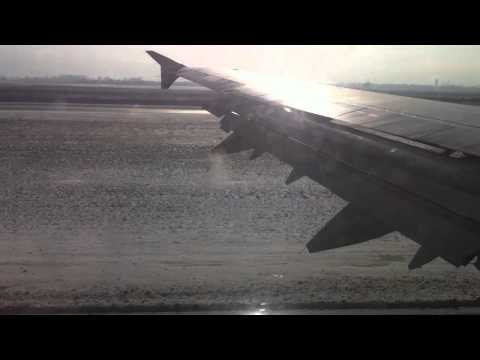 Airbus A321 landing at Sofia International Airport (SOF)