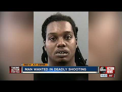 Authorities search for Tampa man wanted in connection with deadly shooting