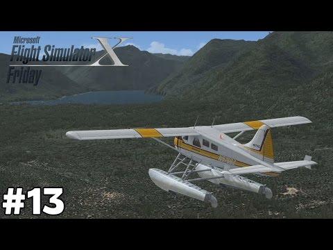 Lake Cushman Charter [De Havilland DHC-2 Beaver Floatplane] - Flight Simulator Friday [ep13]
