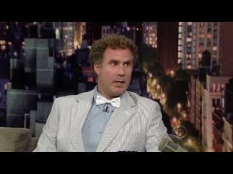 Will Ferrell on Letterman 08/02/2010 Part 1