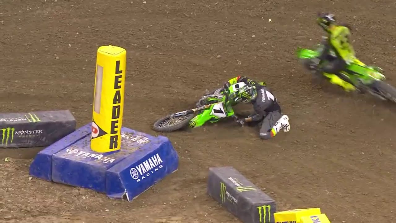 Supercross Round #4 450SX Highlights from Indianapolis
