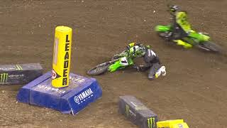 Supercross Round #4 450SX Highlights | Indianapolis, IN, Lucas Oil Stadium | Jan 30, 2021