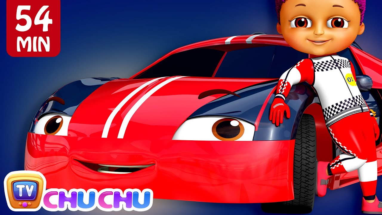 Download Learn Colors with Race Cars + More Funzone Songs for Kids - ChuChu TV