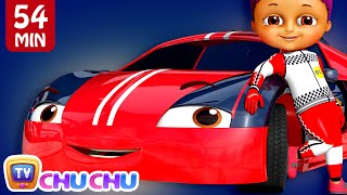 Learn Colors with Race Cars + More Funzone Songs for Kids - ChuChu TV