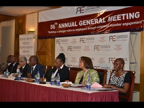 Federation of Kenya Employers 56th Annual General Meeting