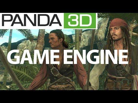 Panda 3D Game Engine 2019 NEW!