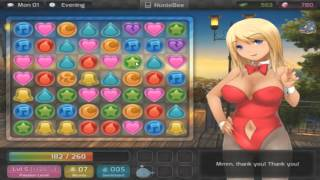 BSL Plays Huniepop - Part 3 - Allllllll The Successful Dates Part 2