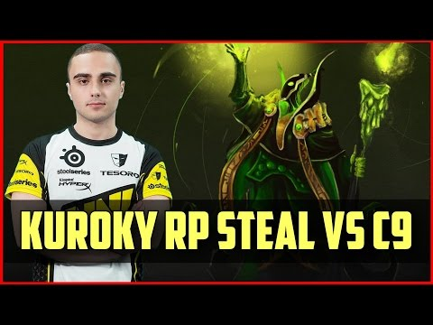 Secret.KuroKy RP Steal vs Cloud 9 @ TI5 Groupstage
