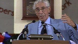 Rizzuto is inducted into the Baseball Hall of Fame