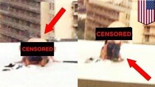 Парочку поймали за сексом на крыше здания федерального суда Гаррисберга