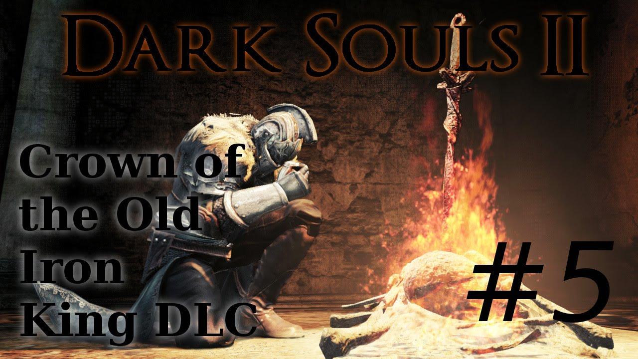 Crown Of The Old Iron King: Dark Souls 2 DLC W/ Armosis
