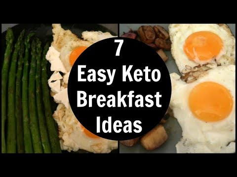 7 Easy Keto Breakfast Ideas | Low Carb Breakfast Recipes