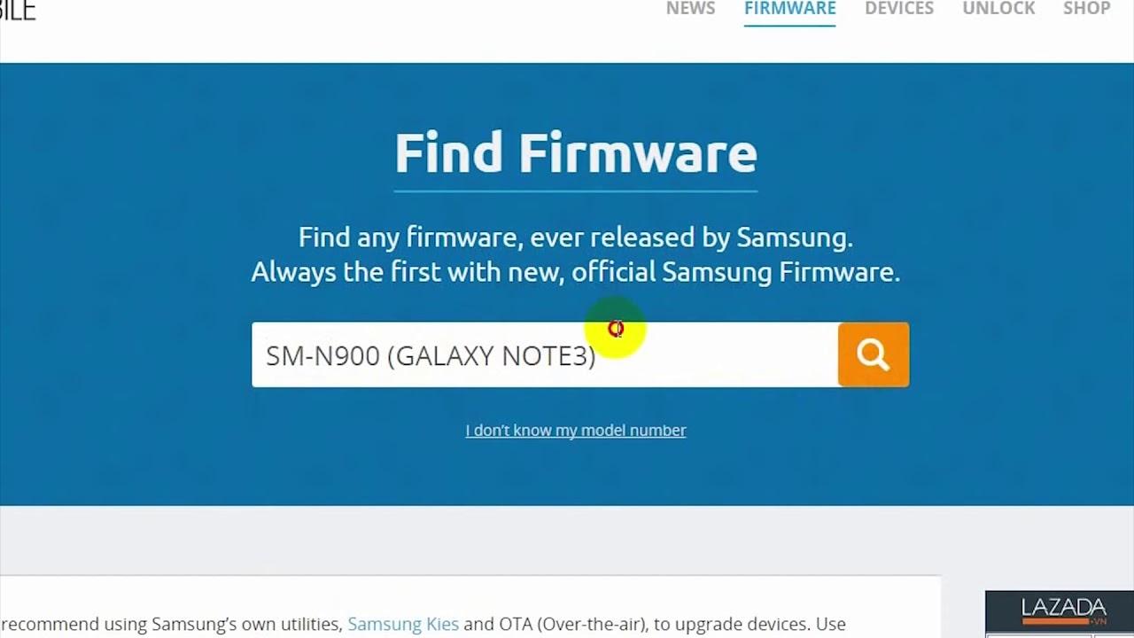 Cách download Firmware Samsung tốc độ cao như tài khoản Premium và hd nâng cấp firmware