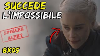 UN DELIRIO - Il Trono di Spade 8x05 - Le Campane - Game Of Thrones - The Bells - REACTION