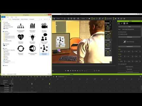 iClone 6 Demo - Super VFX 200