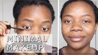 🌿 Minimalist Everyday Makeup Routine /// Simple and done in 5 minutes 🌿