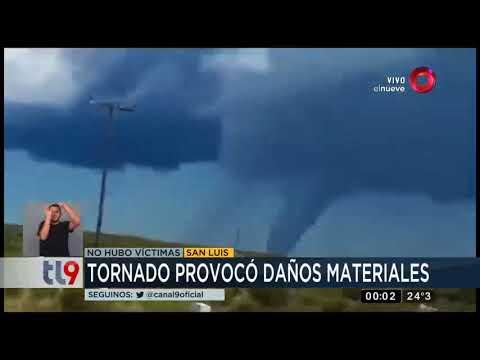 San Luis fue azotado por un tornado