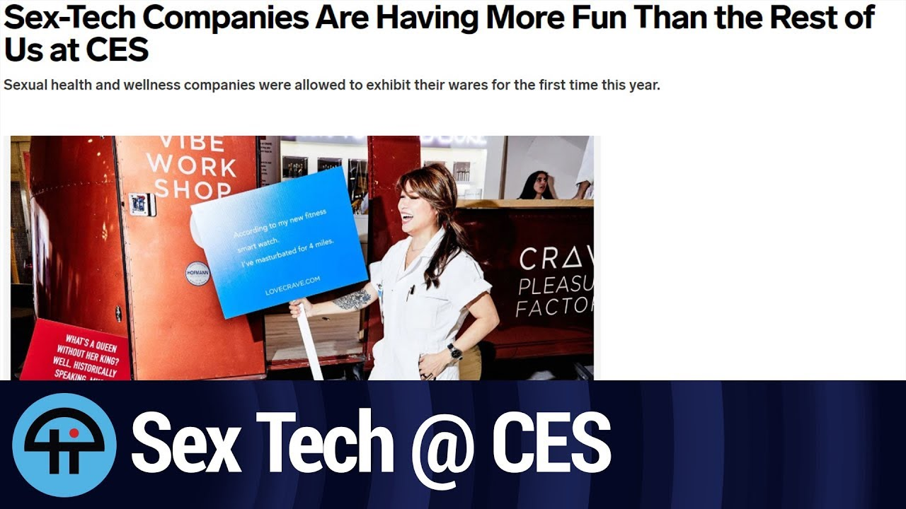 Sex-Tech Companies Are Back at CES