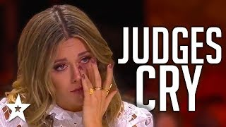 WHEN JUDGES CRY | Most Emotional Auditions On Got Talent 201...