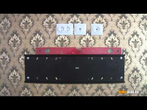 Как установить телевизор посередине комнаты