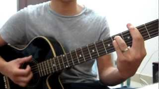 Cam on tinh yeu guitar cover