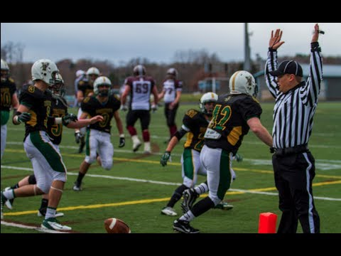 2013 University of Vermont Football VS Holland University