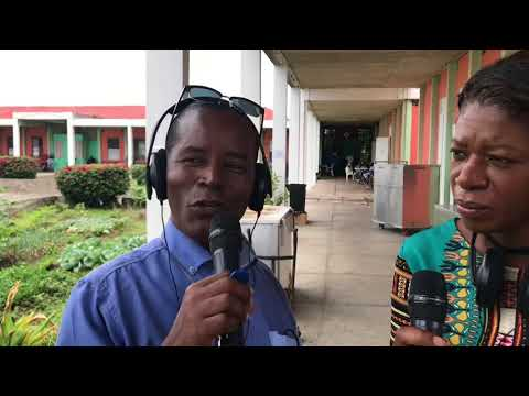 DBS RADIO staff visits the Dominica infirmary for Mothers Day.