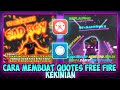 Cara Membuat Quotes Glowing Line Art Free Fire | Di Avee Player