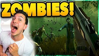 "NEW ZOMBIES SURVIVAL ""INTO THE DEAD 2!"" - Ep #1 Nickatnyte"