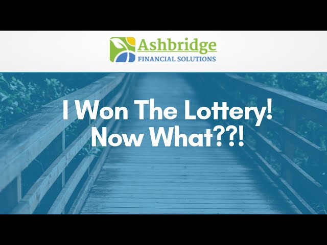 Coffee Break with Debbie Ash - I Won the Lottery! Now What?