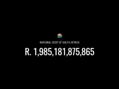 [LIVE] South African Debt Clock