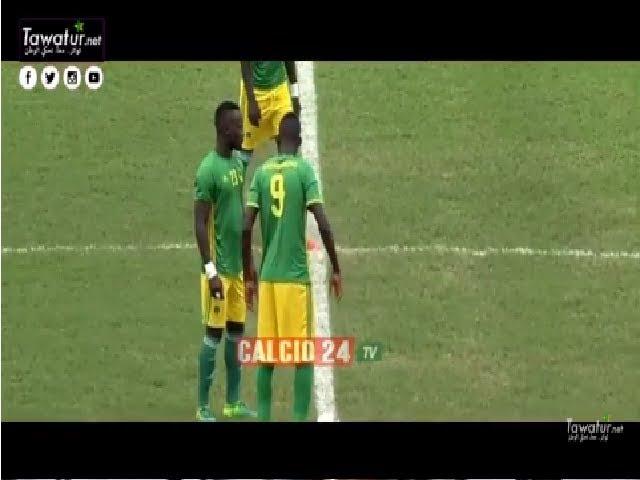 ملخص مباراة موريتانيا ومالي بطولة إفريقيا 2017