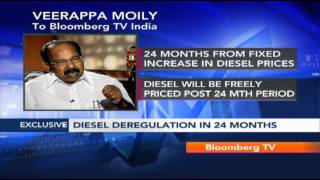 Big Story With Veerappa Moily - On Price Manipulation & Diesel Deregulation (2/3)