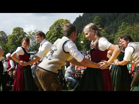Austrian  Folk Dance Landler (Ramsau) / Австрийский лендлер