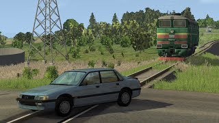Train Accidents 3 | BeamNG.drive