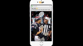 tom brady and his best friend text after afc championship win